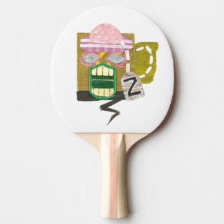 Zombie Mug Ping Pong Bat Ping Pong Paddle