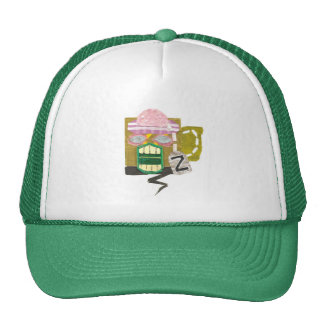 Zombie Mug Trucker Cap Trucker Hats