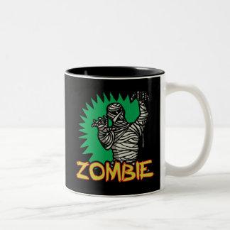 Zombie Mummy Two-Tone Mug Mugs