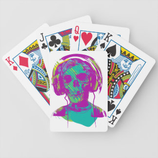 Zombie Music Bicycle Playing Cards