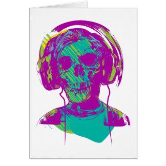 Zombie Music Card