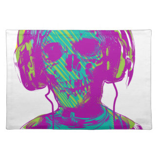 Zombie Music Placemat