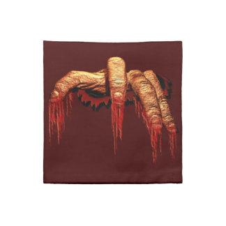 Zombie Napkins Personalized Halloween Napkins Gory