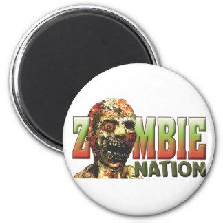 Zombie Nation 6 Cm Round Magnet