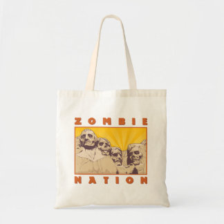 Zombie Nation Tote Bag--Nerdtastic Designs