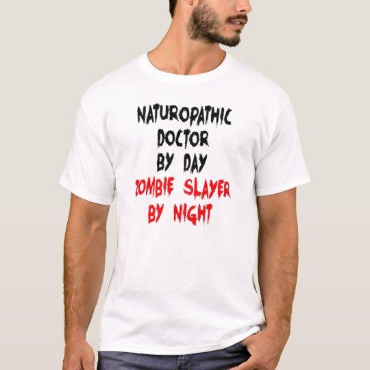 Zombie Naturopathic Doctor T-Shirt