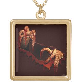 Zombie Necklace Halloween Gory Zombie Necklace