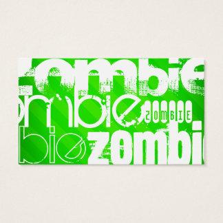 Zombie; Neon Green Stripes