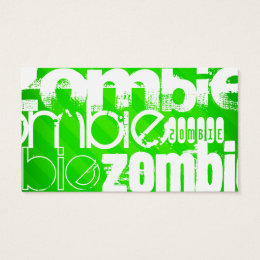 Word cloud business cards business card printing zazzle uk zombie neon green stripes business card reheart Images