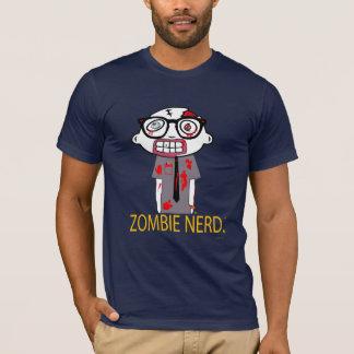 Zombie Nerd. American Apparel Dark T-Shirt
