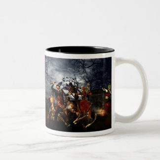 Zombie night mug