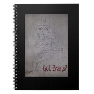 Zombie notebook