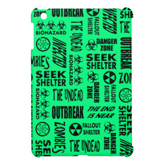 Zombie, Outbreak, Biohazard Black Spring Green Case For The iPad Mini