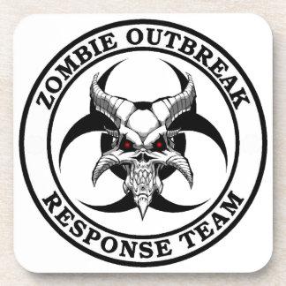 Zombie Outbreak Biohazard Demon Coasters