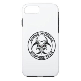 Zombie Outbreak Biohazard Demon iPhone 7 Case