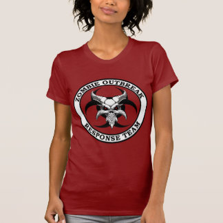 Zombie Outbreak Biohazard Demon Shirt
