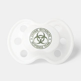 Zombie Outbreak Response Team Baby Pacifiers