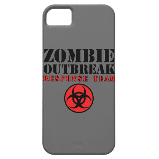 zombie outbreak response team bio hazard walking d case for the iPhone 5