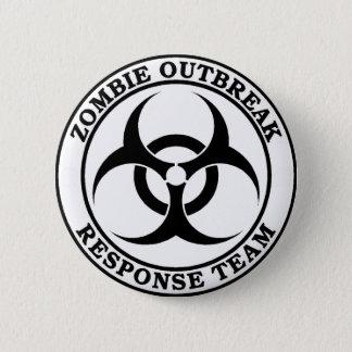 Zombie Outbreak Response Team (Biohazard) 6 Cm Round Badge