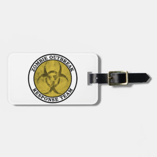Zombie Outbreak Response Team (Biohazard) Luggage Tag