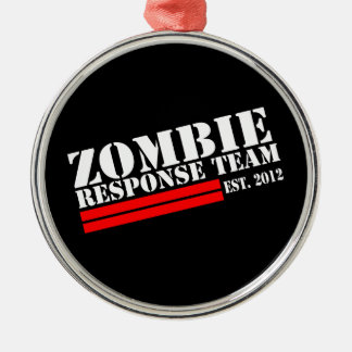 Zombie Outbreak Response Team Christmas Ornament