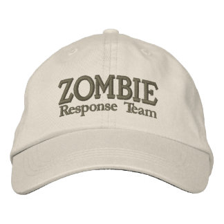 Zombie Outbreak Response Team Embroidered Hat