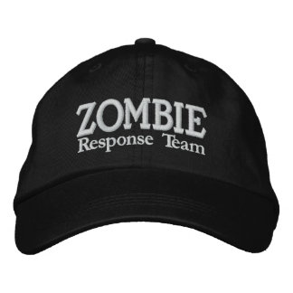 Zombie Outbreak Response Team Embroidered Baseball Caps
