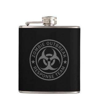Zombie Outbreak Response Team Flasks