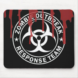 Zombie outbreak response team mouse mat