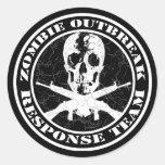 Zombie Outbreak Response Team Sticker