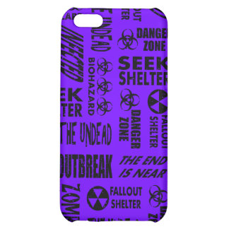 Zombie, Outbreak, Undead, Biohazard Black & Indigo Cover For iPhone 5C