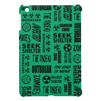 Zombie Outbreak Undead Biohazard Black Jade Case For The iPad Mini