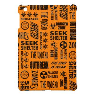 Zombie, Outbreak, Undead, Biohazard Black & Orange Cover For The iPad Mini
