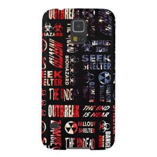 Zombie, Outbreak, Undead, Biohazard U.S.A. Flag Samsung Galaxy Nexus Cases