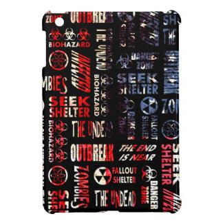 Zombie, Outbreak, Undead, Biohazard U.S.A. Flag iPad Mini Case