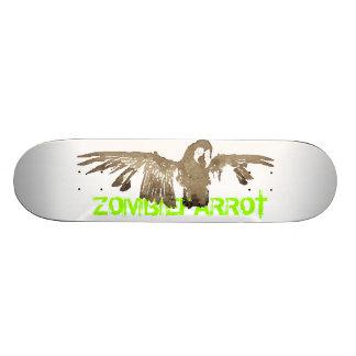 Zombie Parrot Skateboard
