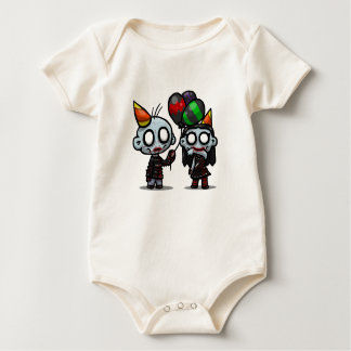 Zombie Party Babygrow Baby Bodysuit