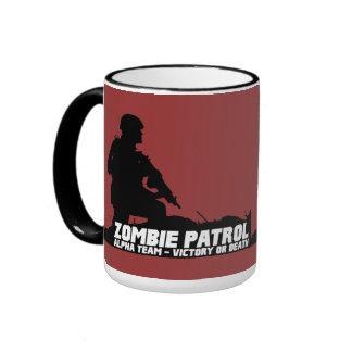 Zombie Patrol - Alpha Team Victory or Death Mugs
