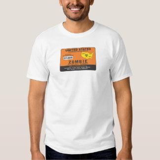 Zombie Permit T-shirt