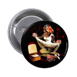 Zombie Pin Up Button