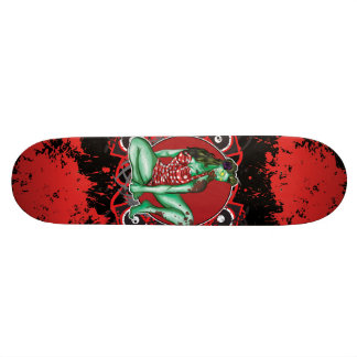 Zombie Pin-Up Skateboard