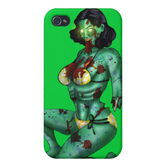 Zombie Pin-Up Speck Case iPhone 4 Case For iPhone 4