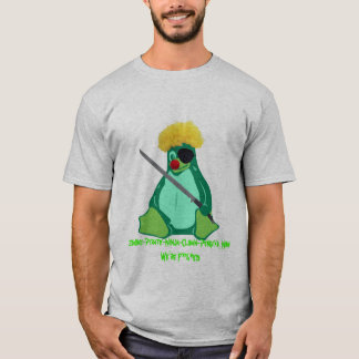 Zombie-Pirate-Ninja-Clown-Penguin, Zombie-Pirat... T-Shirt