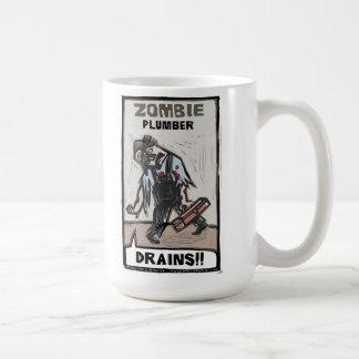 Zombie Plumber Basic White Mug