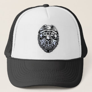 Zombie Police Force Trucker Hat