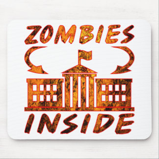 Zombie Politicians Mouse Pad