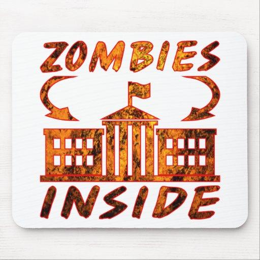 Zombie Politicians Mouse Pads