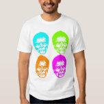 zombie pop art tee shirt