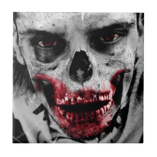 Zombie portrait artistic illustration tile