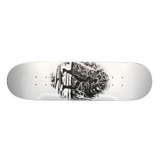 Zombie power skateboard decks